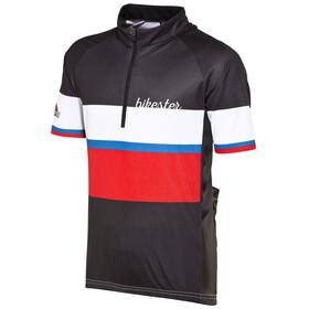 Bikester Basic Team Kortærmet cykeltrøje Børn rød/sort